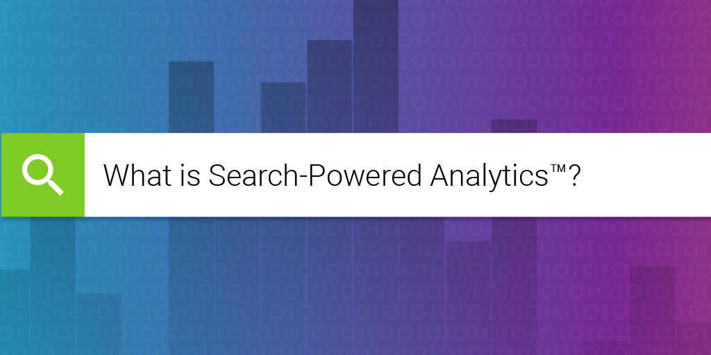 Learn what search-powered analytics is.