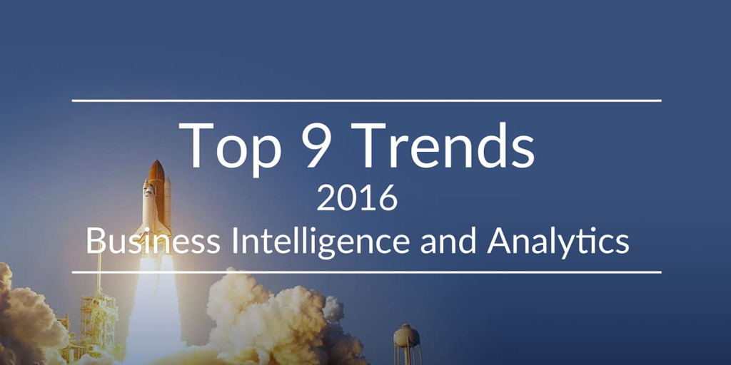 Top 9 trends BI and Analytics