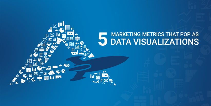 Check out how data visualization showcases these five marketing metrics.