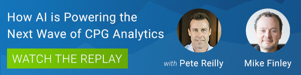 Watch the replay of our webinar on AI and CPG analytics.