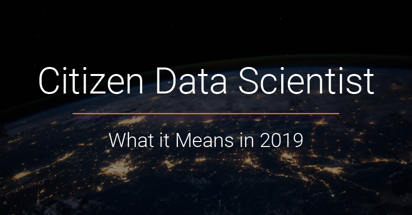 Citizen Data Science