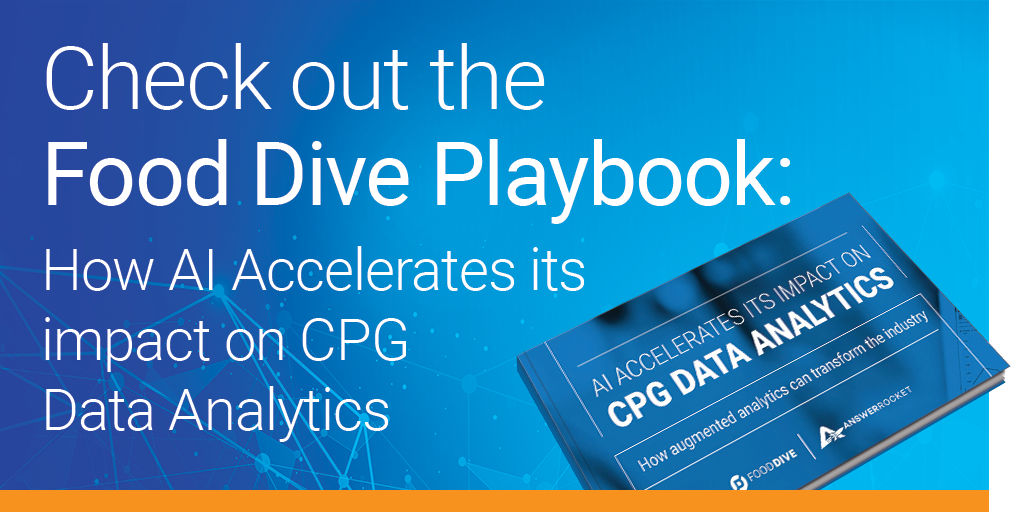 Check out our Food Dive playbook and learn how AI accelerates its impact on CPG data analytics.