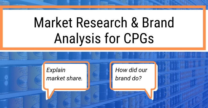 Market Research & Brand Analysis for CPGs
