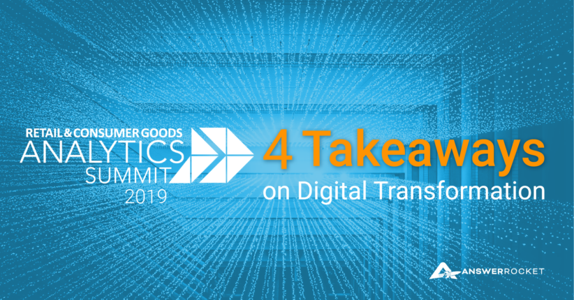 Check out our RCAS19 takeaways on digital transformation.