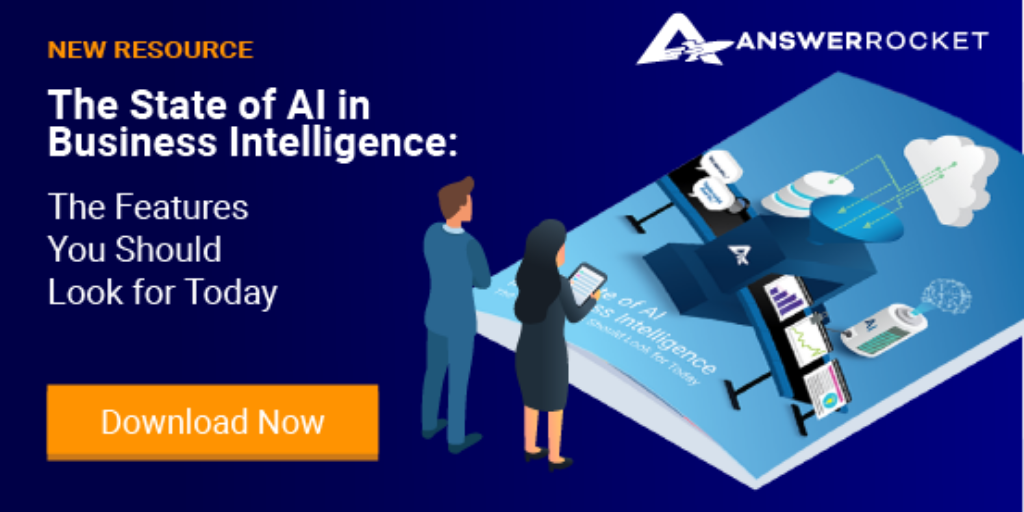 Learn more about AI in BI and how it impacts advanced analytics.