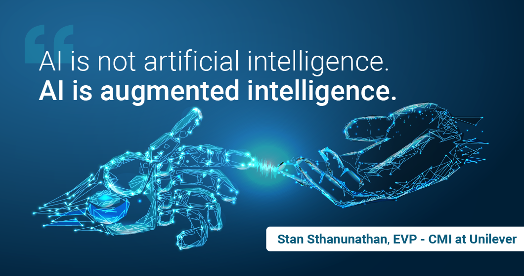 AI analytics augment the workforce to be more effective.