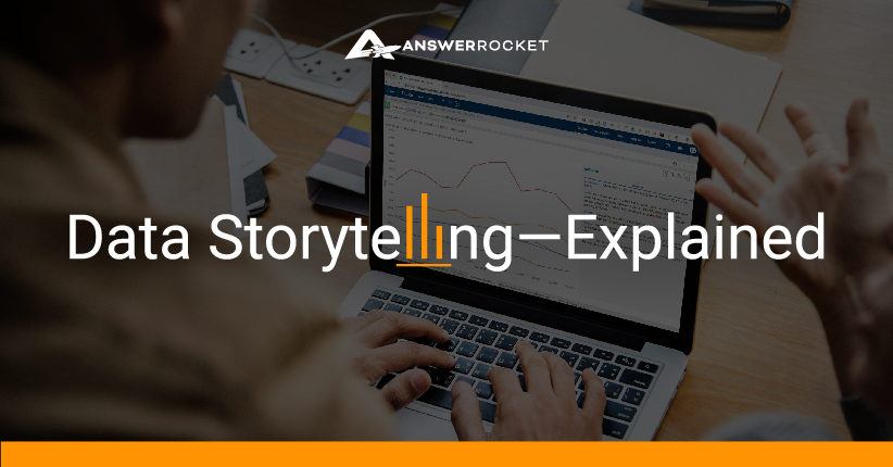 An explanation of storytelling with data.