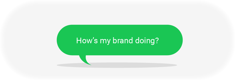 Brand Health Thought Bubble
