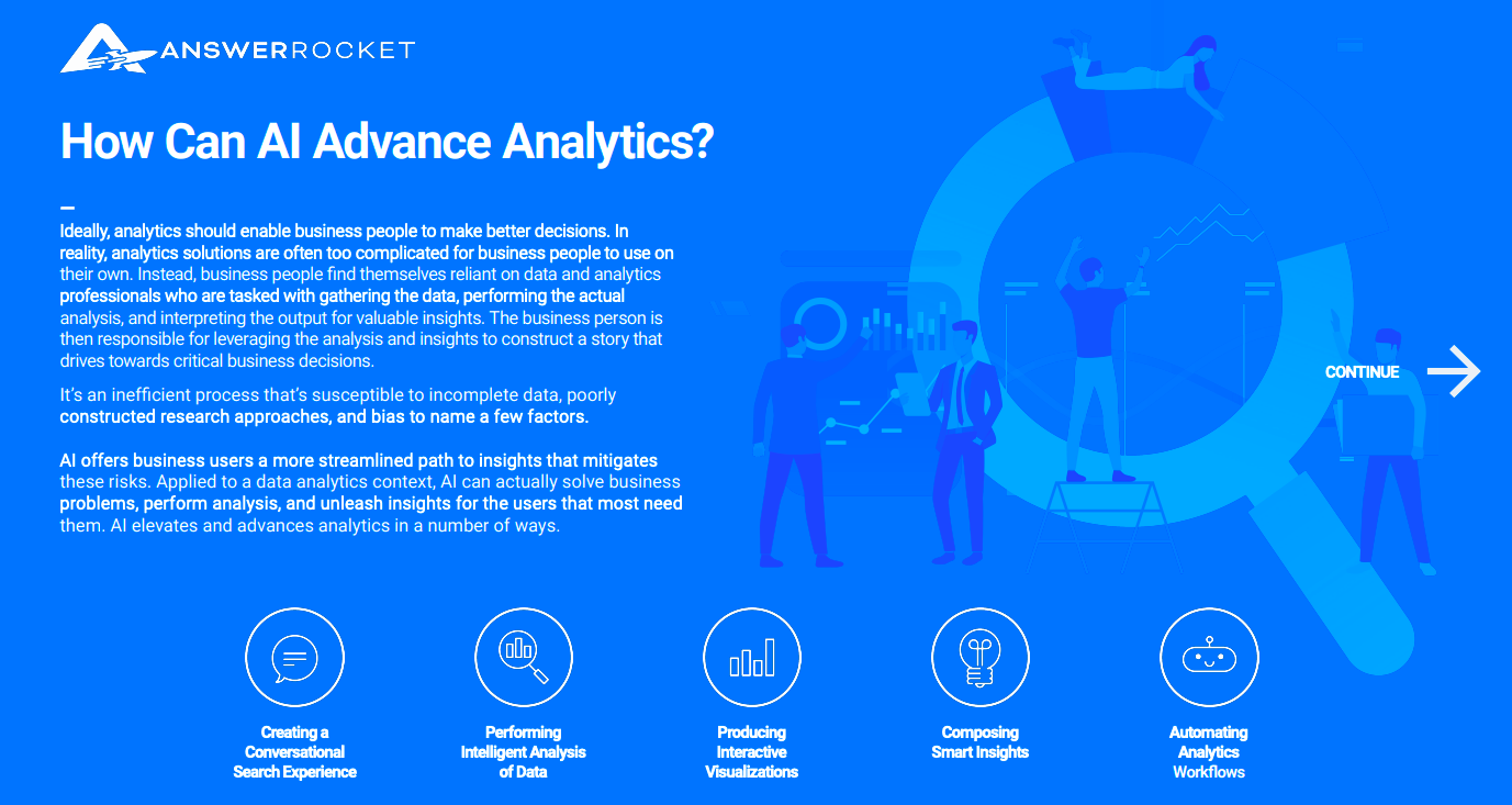 How Can AI Advance Analytics?
