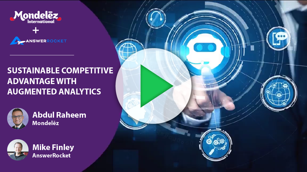Sustainable competitive advantage with augmented analytics