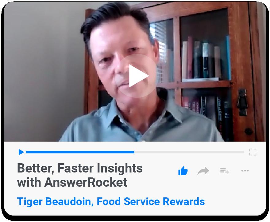 Food Service Rewards Testimonial
