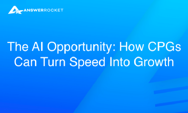 The AI Opportunity: How CPGs Can Turn Speed Into Growth
